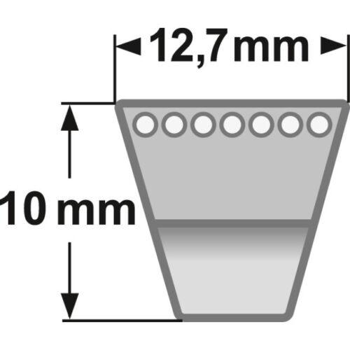 WOLF Keilriemen 754-04050 für Fräsantrieb