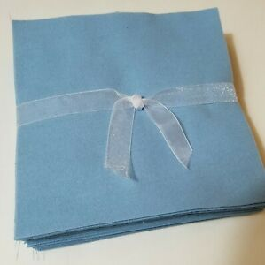 36-6-5-034-Solid-Blue-Flannel-Fabric-Pre-Cut-Rag-Quilt-Squares