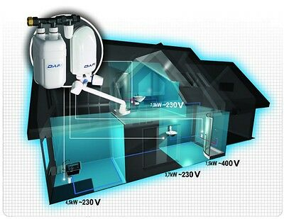 Electric Water Heater DAFI 3,7 - 7,3 kW 240 V tankless & compact-under sink