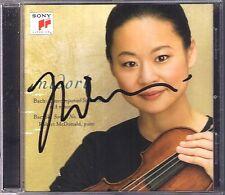 MIDORI Signiert BACH Solo No.2 BARTOK Violin Sonata No.1 CD Robert McDonald NEU