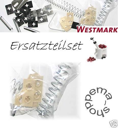 WESTMARK Kirschentkerner Kirschentsteiner 4030 Kunststoff Ersatzteil Set 4tlg