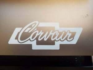 Chevrolet Corvair bowtie logo vinyl sticker
