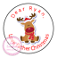 Personalised-Christmas-Sticker-Father-Xmas-Santa-Reindeer-Sweet-Cone-Gift-Hamper thumbnail 8