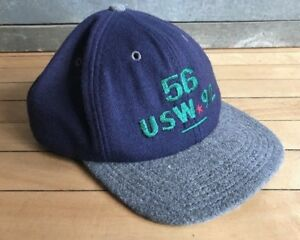 93e9af1c Details about Vintage 90's Gap Wool Baseball Hat Cap Spellout Made in USA  Snapback Polo