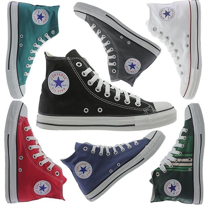 Converse All Hi-Top Star Hi Chucks kultige Hi-Top All Sneakers FreizeitZapatos Canvas NEU 0eefbd
