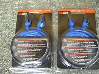2 Gigaware 7 Ft Cat6 Computer Network Cables, Rj45 Modular Plug Ends 278-1766