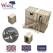 WWS OO Gauge Model Fences 2.1m Railway Modelling 00 Scale Railroad Landscape
