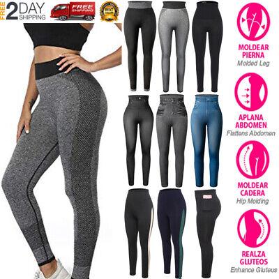 Leggings Deportivas Ropa Deportiva De Moda Licras Pantalones Para Yoga Mujeres Ebay