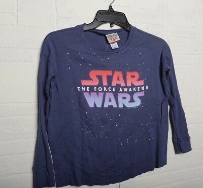 Star Wars The Force Awakens ™ Girls T Shirt Long Sleeve  Pink New