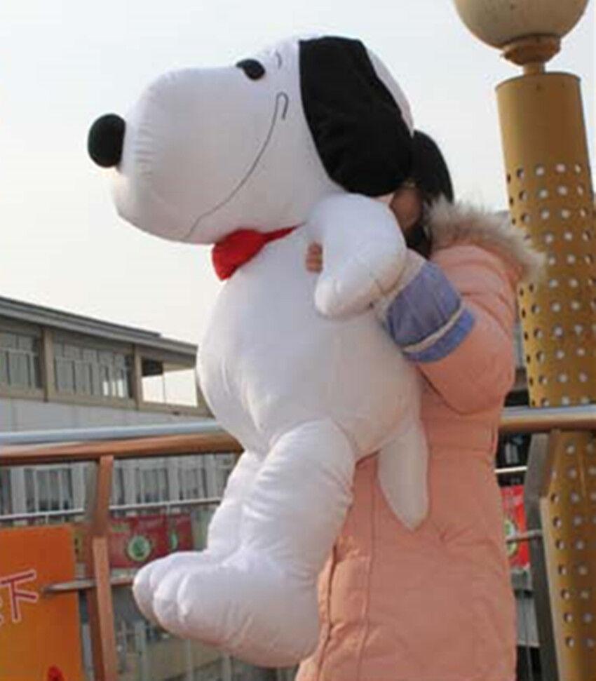 2018 Nuovo 41.3 Peanuts Giant Snoopy Dog Tie Plush Stuffed Toy Doll kids Birthday