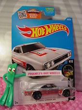 2016 Hot Wheels '69 DODGE CHARGER 500 #84☆Walmart Exclusive ZAMAC; Red; gray mc5