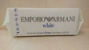 Emporio-Armani-White-for-HIM-100-ml-Eau-de-Toilette-Spray-Men-EDT-VINTAGE