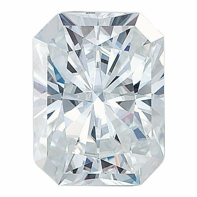7x5mm Emerald Octagon Radiant Cut Forever One colorless Moissanite NEW