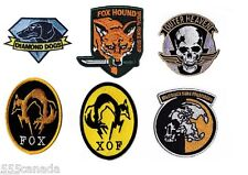 IRON ON Metal Gear Solid Patch Collection - Snake Phantom Pain 2 3 4 V 5 Kojima