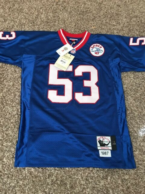 New York Giants 1986 HARRY CARSON #53 Mitchell & Ness Jersey Size ...