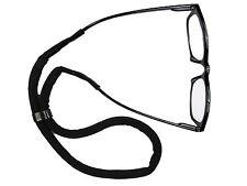 Schwimmfähiges Brillenband Schwarz Brillenhalter Wassersport
