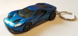 Image Is Loading Hotwheels  Ford Gt Keyring Cast Car