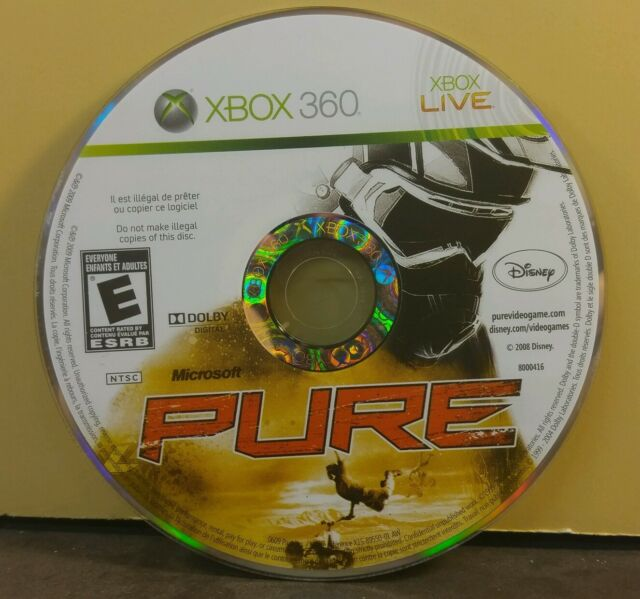 PURE (XBOX 360) USED AND REFURBISHED (DISC ONLY) #10859