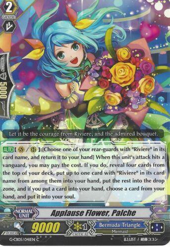 G-CB05//041EN C CARDFIGHT VANGUARD CARD PALCHE APPLAUSE FLOWER