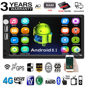 Android-8-1-7-034-2Din-Quad-Core-GPS-Navi-WiFi-Car-Stereo-MP5-Player-FM-Radio-USB