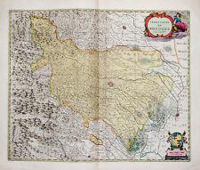 c1700 Italien Italia Emilia Romagna Bologna Kupferstich-Landkarte Mortier
