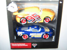 DISNEY PIXAR CARS 3 TWIN PACK RUST-EZE CRUZ RAMIREZ & FABULOUS LIGHTNING MCQUEEN