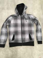 68f2bdfdf The North Face Mens Klamath Plaid Hoodie Jacket Bipartisan Brown Sz M -