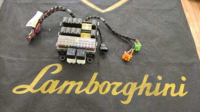 lamborghini gallardo spyder engine fuse box unit oem 407971258 | ebay  ebay