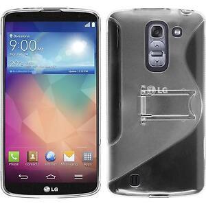 Funda-de-silicona-LG-G-Pro-2-transparente-protector-de-pantalla
