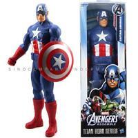 """MARVEL LEGENDS TITAN HERO SERIES Captain America Avenger 12"""" ACTION FIGURE FY144"""