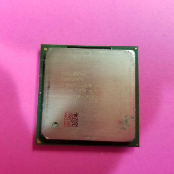 100% Waar Intel Pentium 4 3ghz (rk80532pg080512) Processor - Sl6wk Duidelijk En Onderscheidend