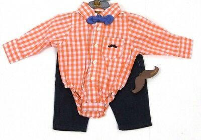 5 PC Baby Boys little gent baby clothes gift set party formal suit 3-6 months