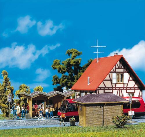 Faller 180587-1//87 Neu H0 2 Bus-Wartehäuschen