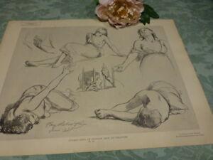 Dernier Jour De Corinthe =ancienne Lithographie Planche40 Superbe Crayonnage Convient Aux Hommes Et Aux Femmes De Tous âGes En Toutes Saisons