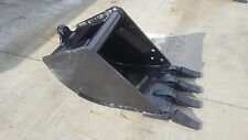 New 18 Tag Coupler Style Excavator Bucket Fits 9 12k Machines 125 Pin