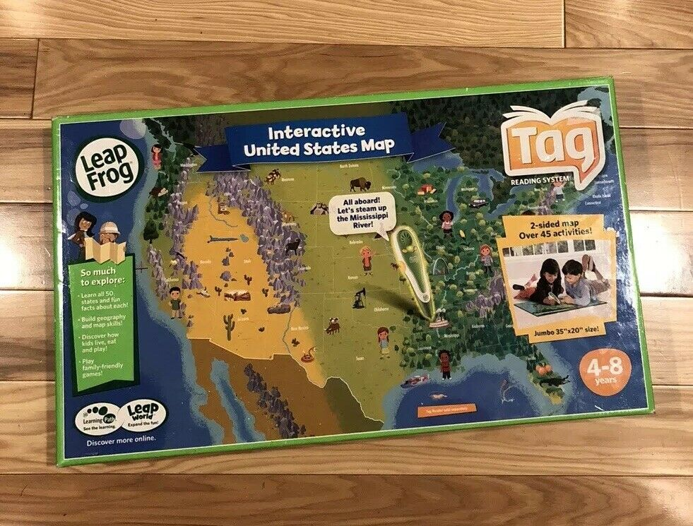 Tag Reading System LEAP FROG Interactive Interactive