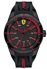 Scuderia Ferrari reloj red Rev caballeros-reloj pulsera 0830245 nuevo & OVP