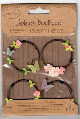 JOLEE/'S BOUTIQUE SPRING WIRE WREATH DIMENSIONAL STICKERS  BNIP