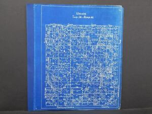 Iowa Harrison County Map Union Township 1940 Y10#59
