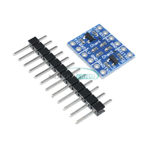 5PCS 2-Channel IIC I2C nivel lógico convertidor bidireccional Módulo 5V a 3.3V