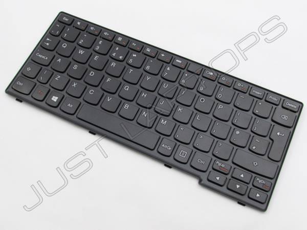 New Genuine Original Lenovo 25204678 UK English QWERTY Keyboard Black