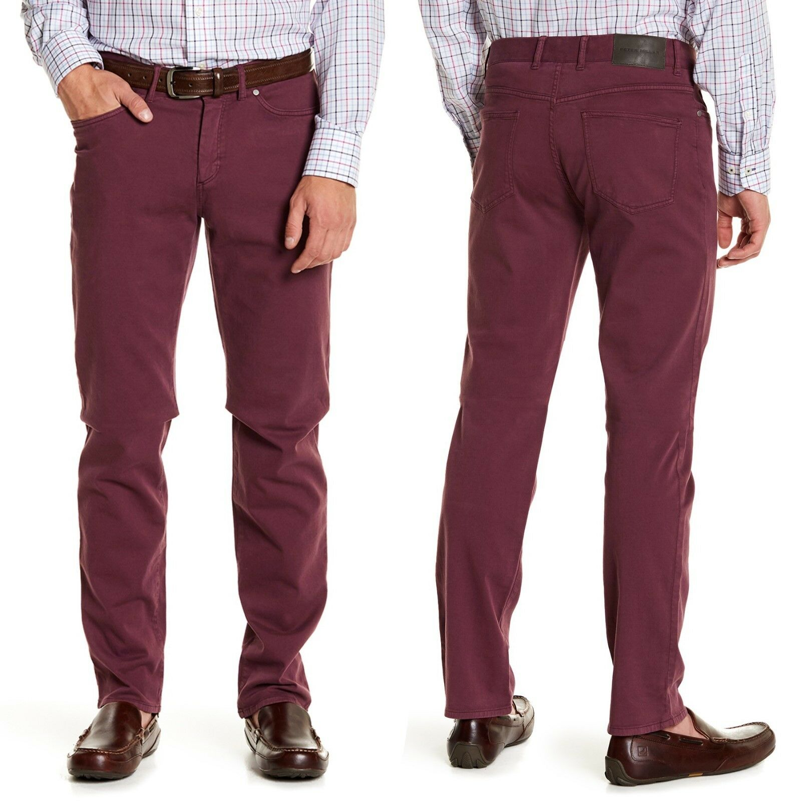 PETER MILLAR Collection Stretch Perfect Twll Tailored Fit Pants 32X33  NWT