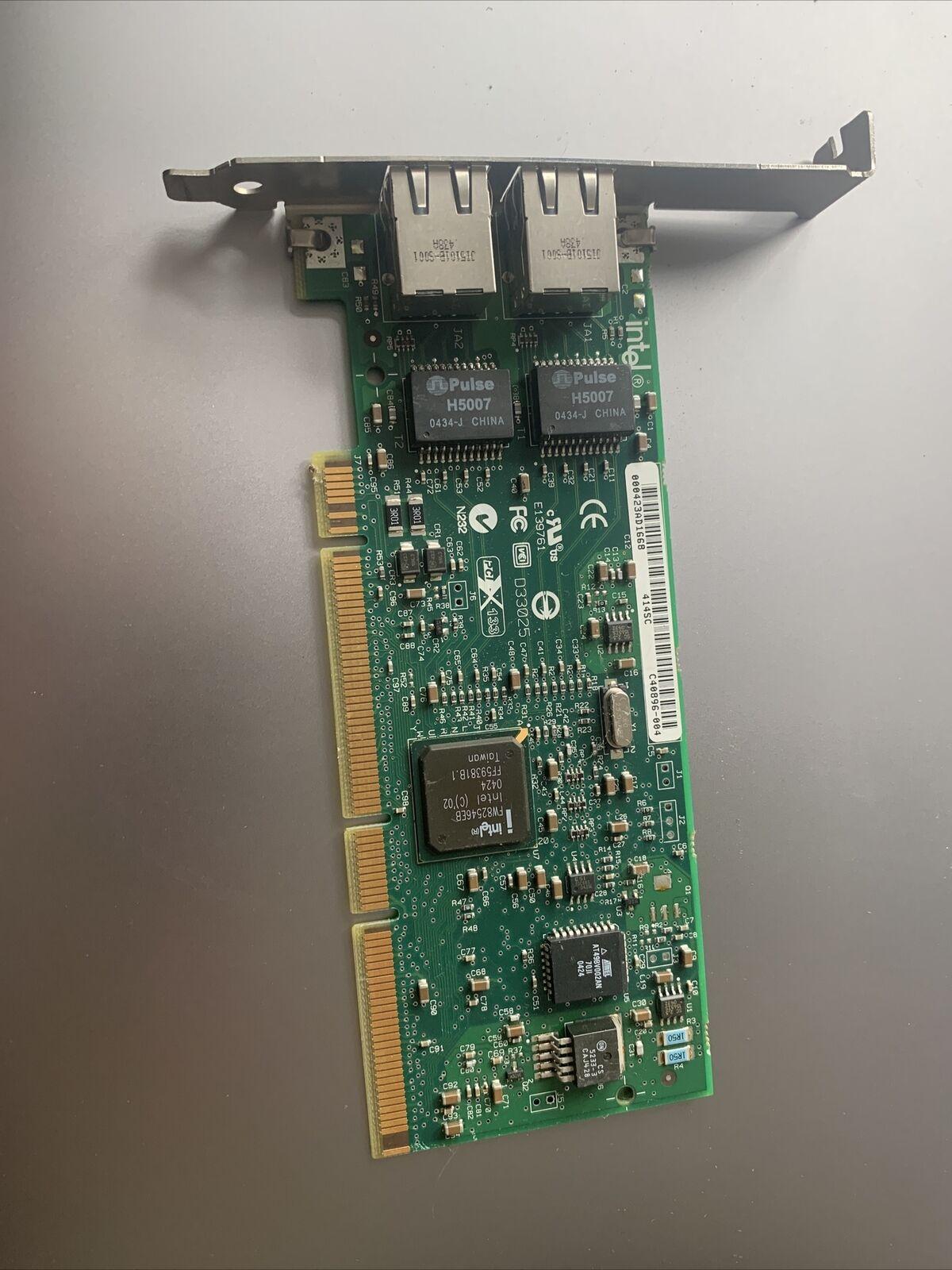 J1679 Dell Intel DP PCI-X 1Gb/s Network Card Nic. Esxi Compatible