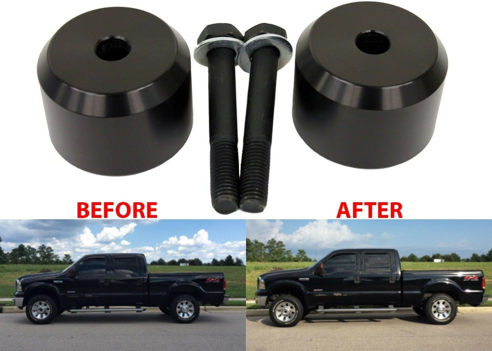 "2"" Front Leveling Kit For 2005-2018 Ford F250 F350 New"