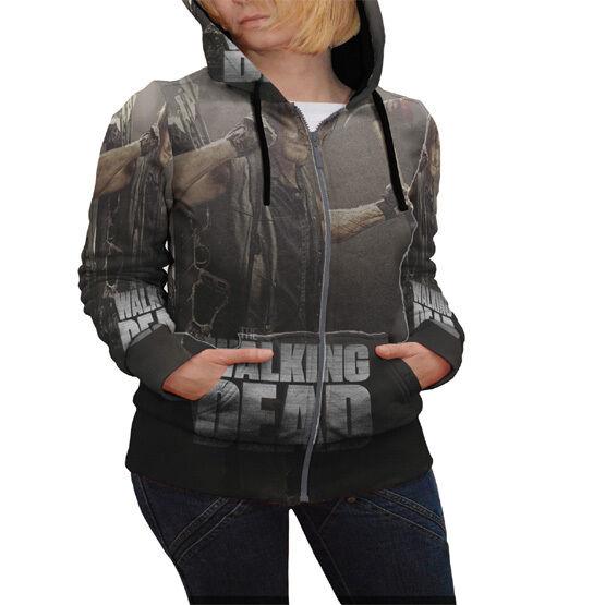 Daryl Dixon Dixon Dixon Walking Dead Hoodie Apparel New Women's Zipper Hoodie a9abab
