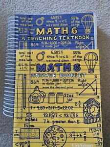Math 6 (BRAND NEW) A Teaching Textbook and Answer Key by ...