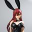 miniatuur 4 - Fairy Tail Erza Scarlet Bunny Girl Anime Figure Sexy PVC Action Figure Toys 45cm