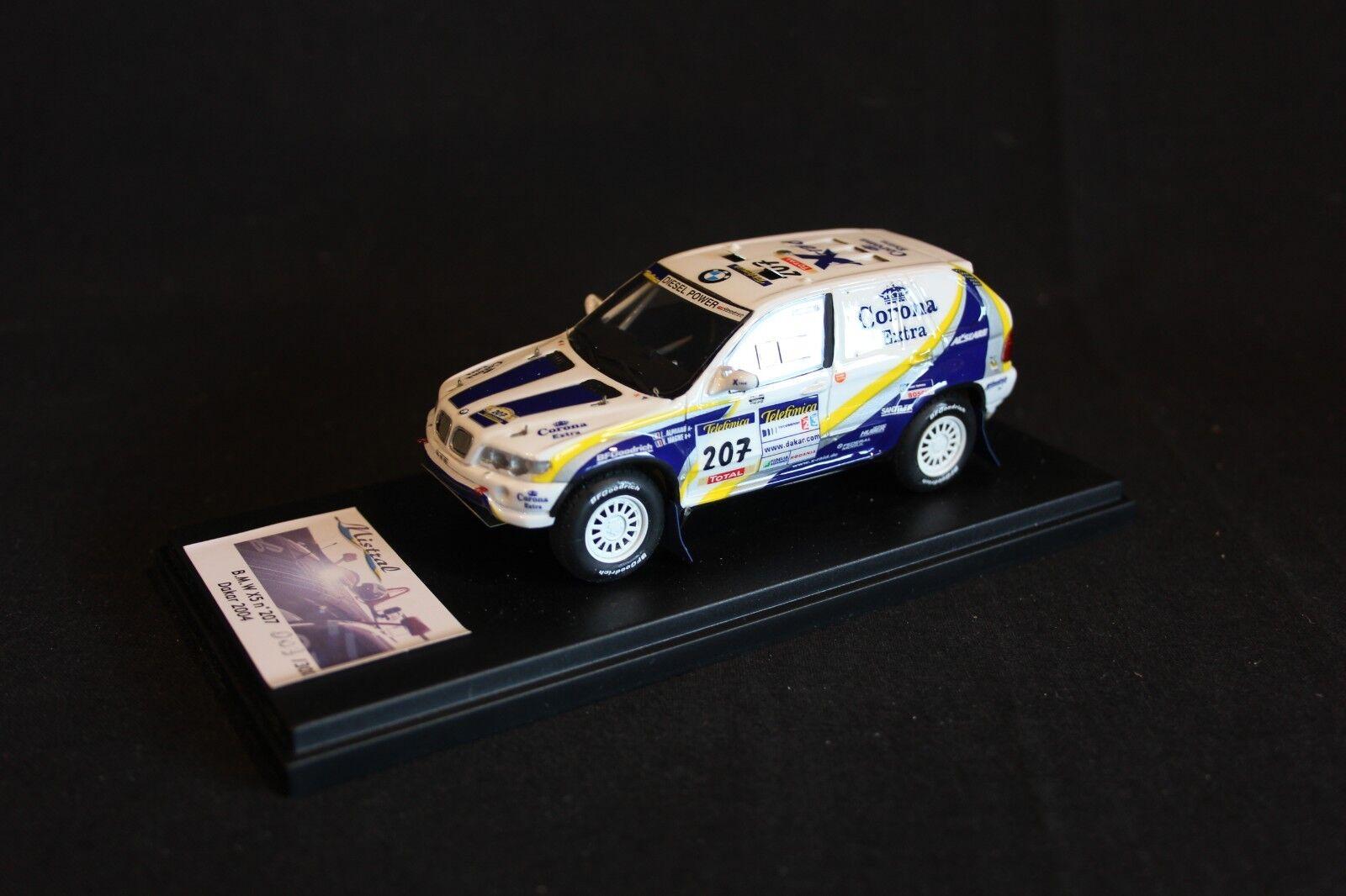 Mistral BMW X5 Rallye X-Raid 2004 1 43 Alphand   Magne Dakar Rally