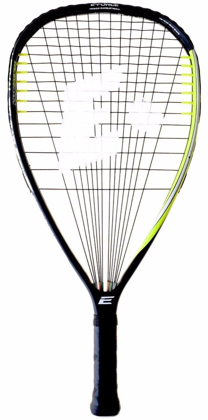 E-Force Recarga letal 160 3 5 8  Racquetball Racquet 1yr Garantía
