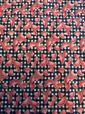 """Watermelon Checkered Fabric Traditions 45"""" X 96"""" 2+ Yards Slice Fruit Cotton"""